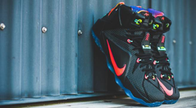 brand new 8af6b 0f67c Updated Release Date For The  Data  Nike LeBron 12