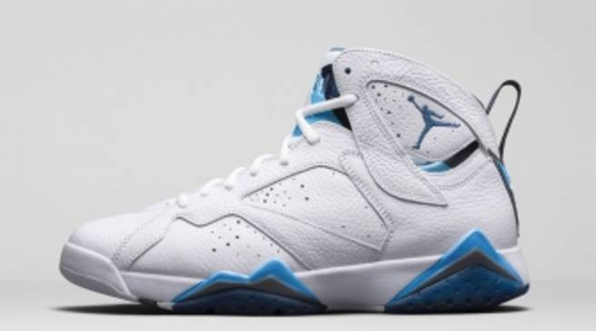 new product 8125f 01e2a An Official Look at the  French Blue  Air Jordan 7 Retro