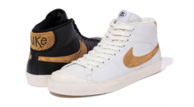 Stussy x Nike Capsule Collection - Nike All Court Mid + Nike Destroyer  Letterman Jacket 6064a0990a06