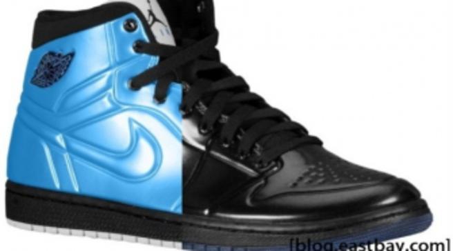 sports shoes 3eca4 543c7 Air Jordan 1 Anodized – University Blue   Black