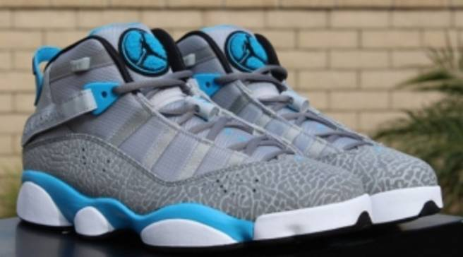 49a61af8d9d Dark Powder Blue Takes Over This Weekend s Jordan Six Rings