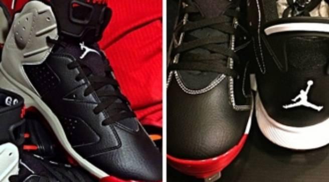 Gio Gonzalez Has Pretty Awesome Air Jordan 6 PE Baseball Cleats 205649472b