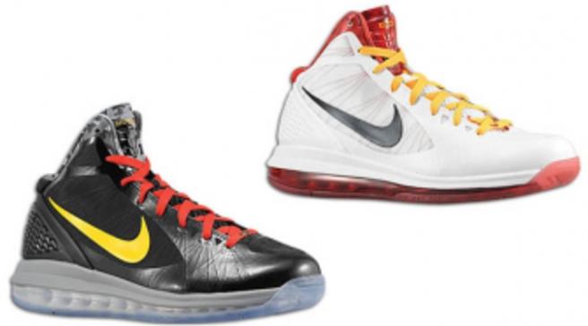 83b51250e08 Nike Air Max Hyperdunk 2011 - Chris Bosh Home   Away