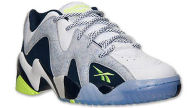 128ab12fedf Reebok Kamikaze II Low White Steel-Navy-Yellow