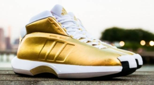 brand new 80bcf 9c9cc adidas Awards Golden Crazy 1 to Packer Shoes