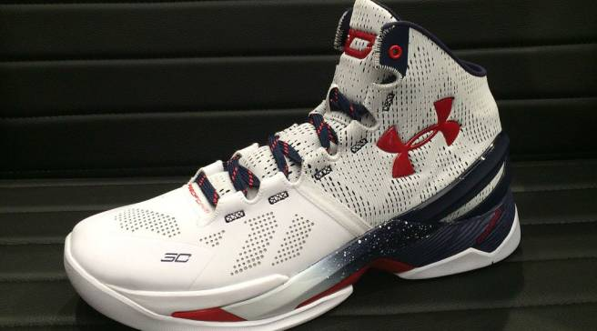 fb024918f85c This Under Armour Curry Two Is Ready for the Olympic Podium