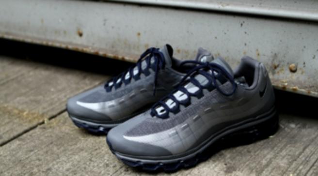 newest 5e5a0 7913e Nike Air Max 95+ BB - Dark Grey/Wolf Grey-Obsidian