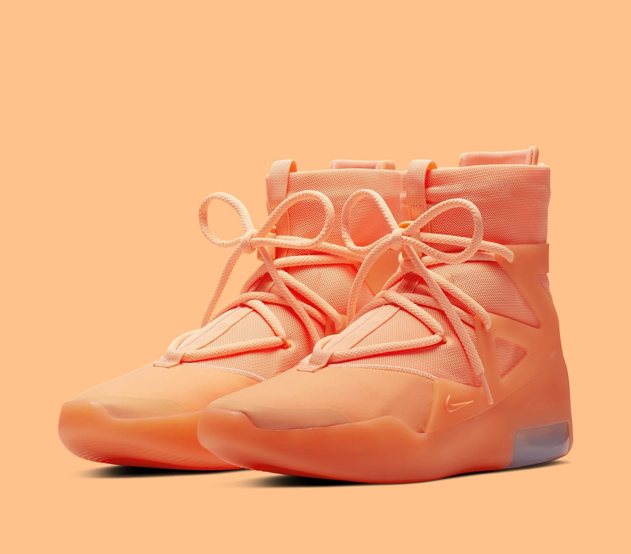dfc32ccbe7b Nike Air Fear of God 1 'Orange Pulse' Release Date AR4237-800 Summer 2019 |  Sole Collector