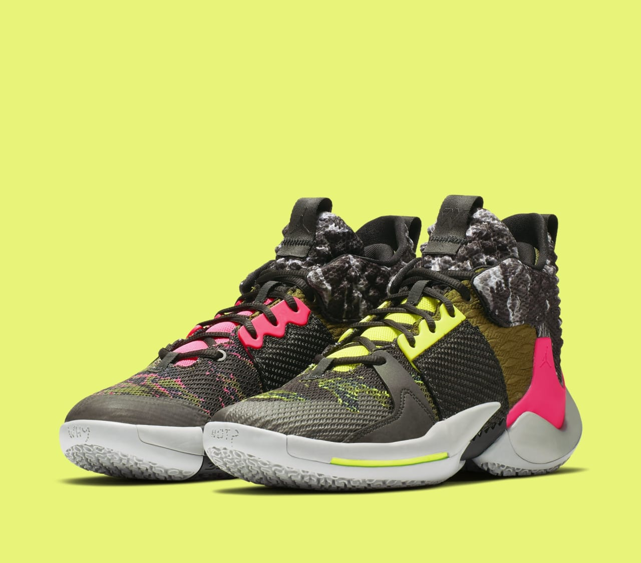 4ed4bc79726 A Rebellious Colorway of the Jordan Why Not Zer0.2. Russell Westbrook ...