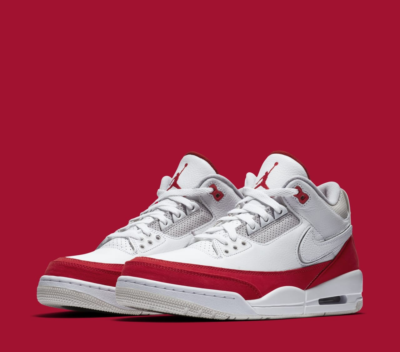 c3034d2541 Air Jordan 3 TH SP 'Katrina' White/University Red-Neutral Grey ...