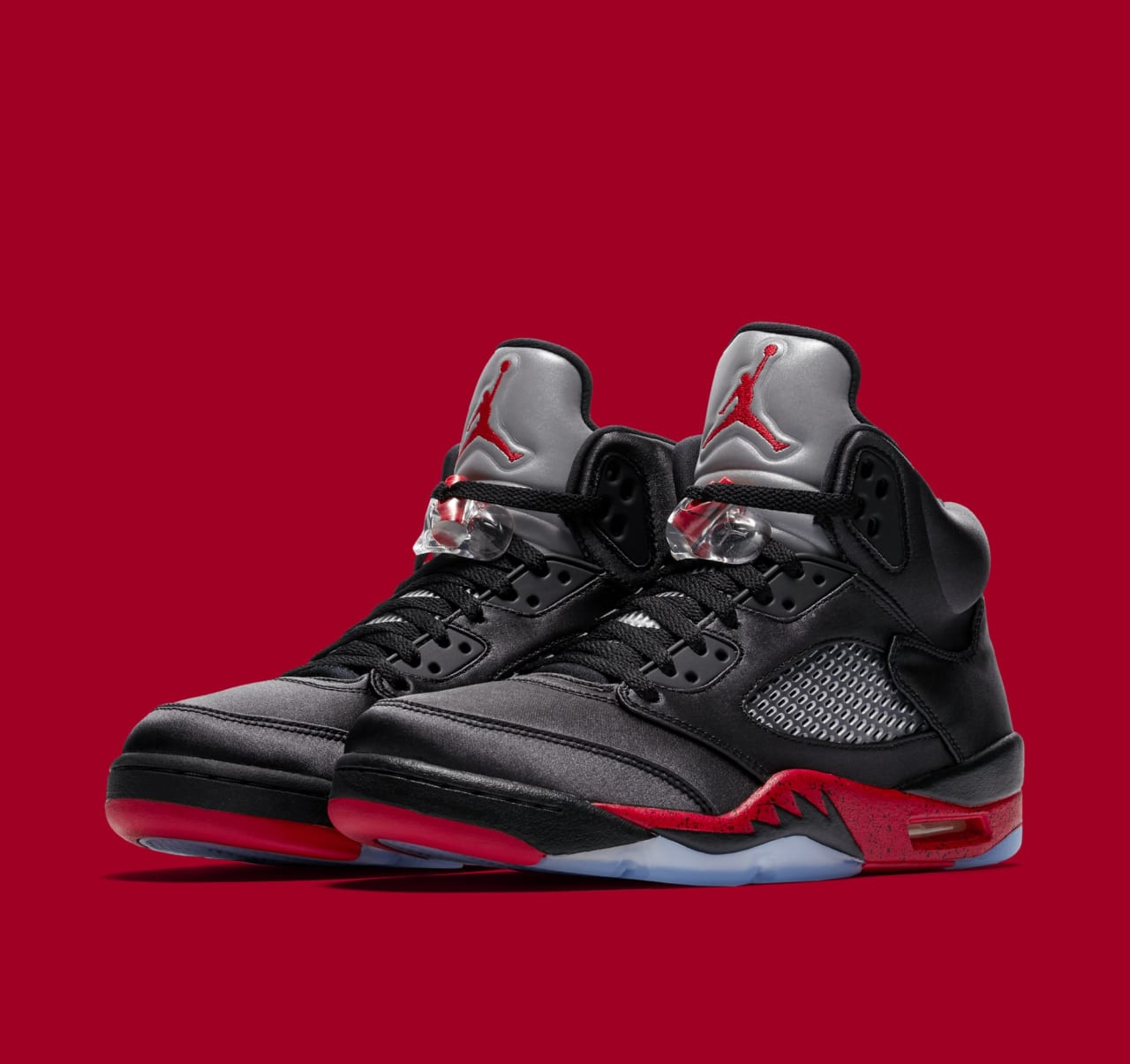 25d3dace507 Air Jordan 5 'Black/University Red' Release Date   Sole Collector