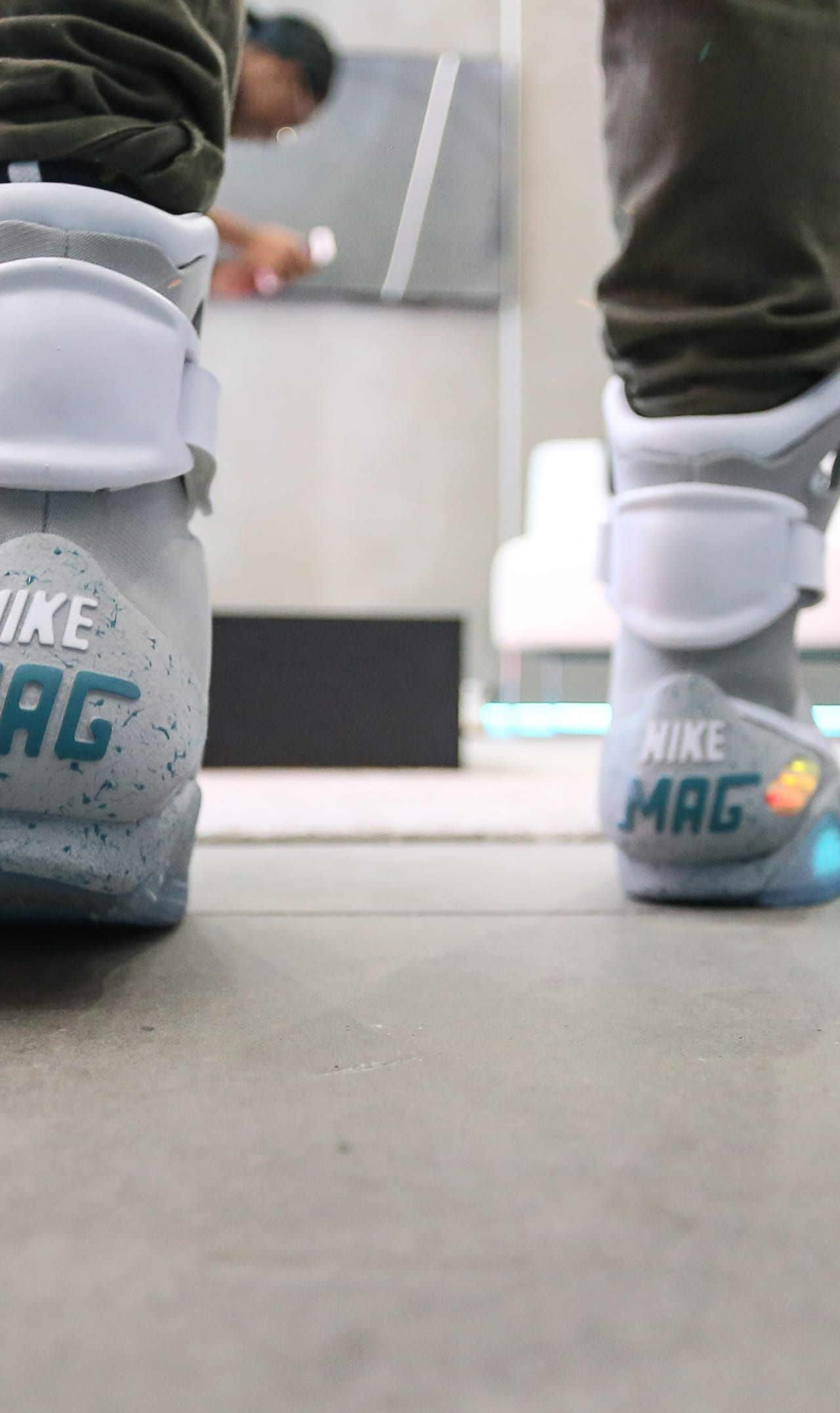 7ccccc17bb7 Auto-Lacing Nike Mag Reactions | Sole Collector