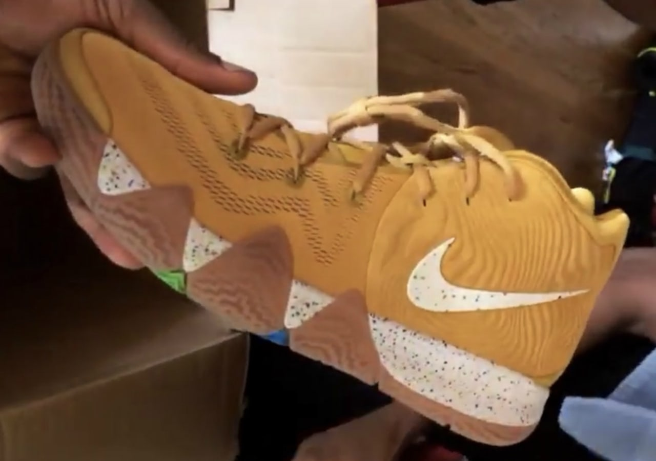 kyrie 4s cereal