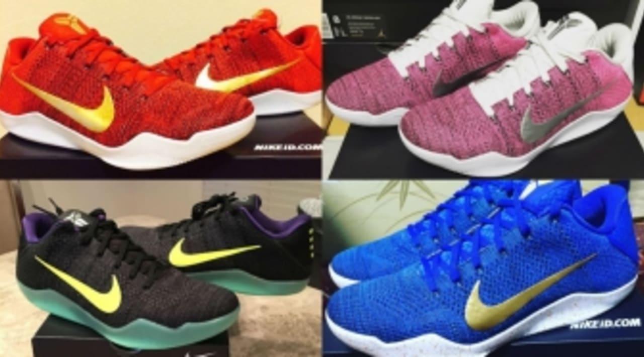 Authentic Nike Kobe 11 Think Pink Schwarz Weiß : Damen