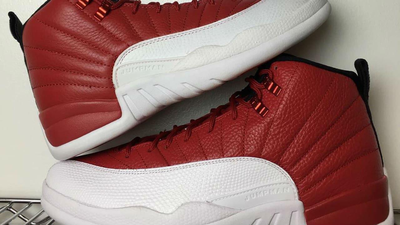 Air Jordan XII 12 Gym Red Real Fake