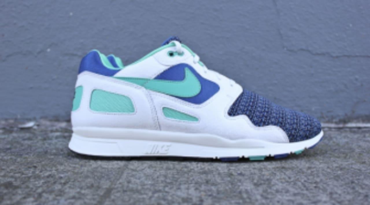 Destructivo Amigo por correspondencia Gran roble  Nike Air Flow - Storm Blue / New Green / Summit White | Sole Collector
