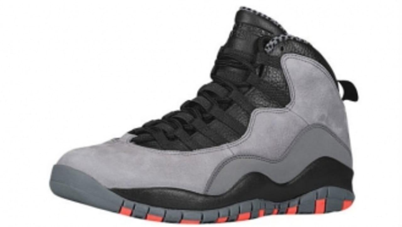Air Jordan 10 Retro - Cool Grey