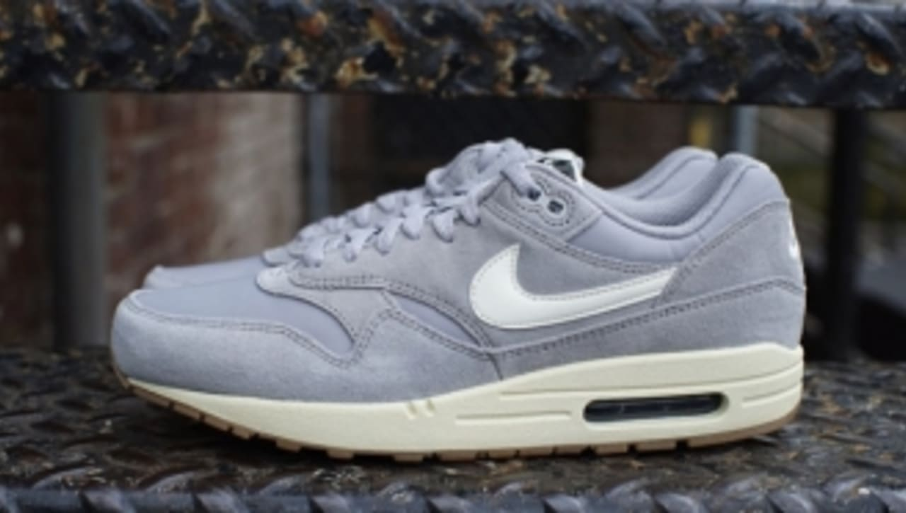 Nike Air Max 1 Essential Suede 'Matte Silver' | Sole Collector