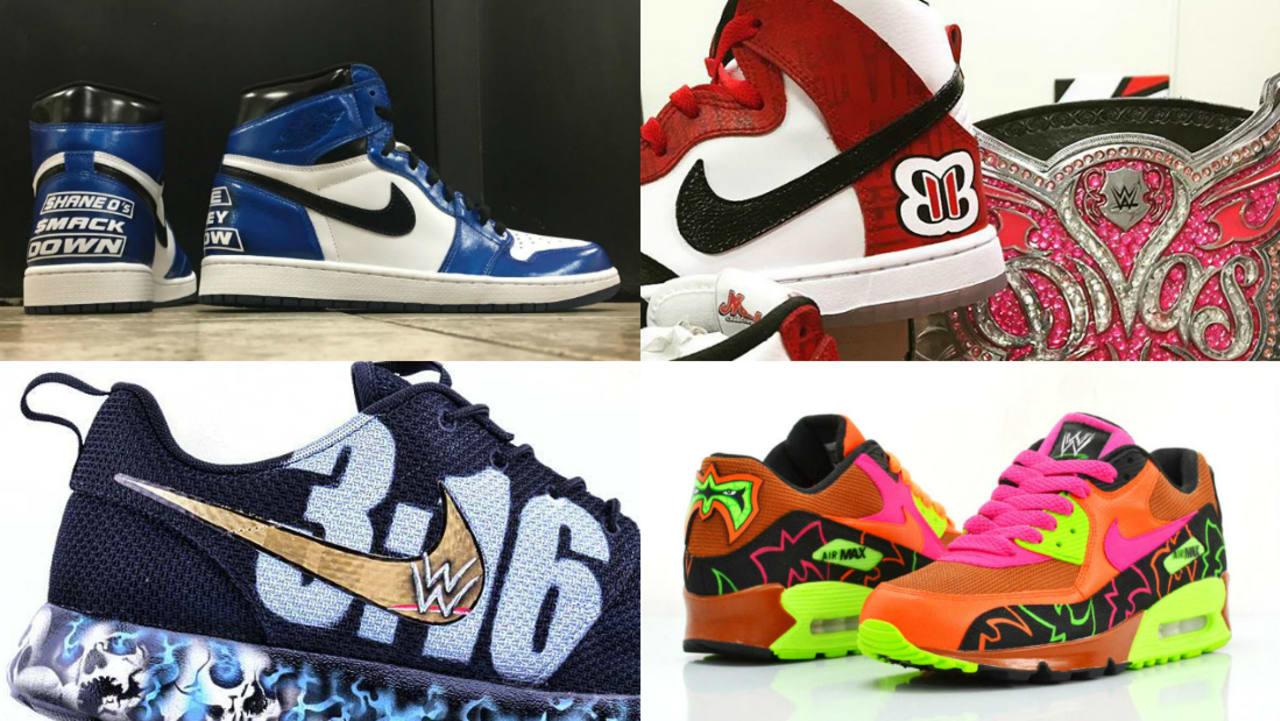 Custom WWE Sneakers   Sole Collector