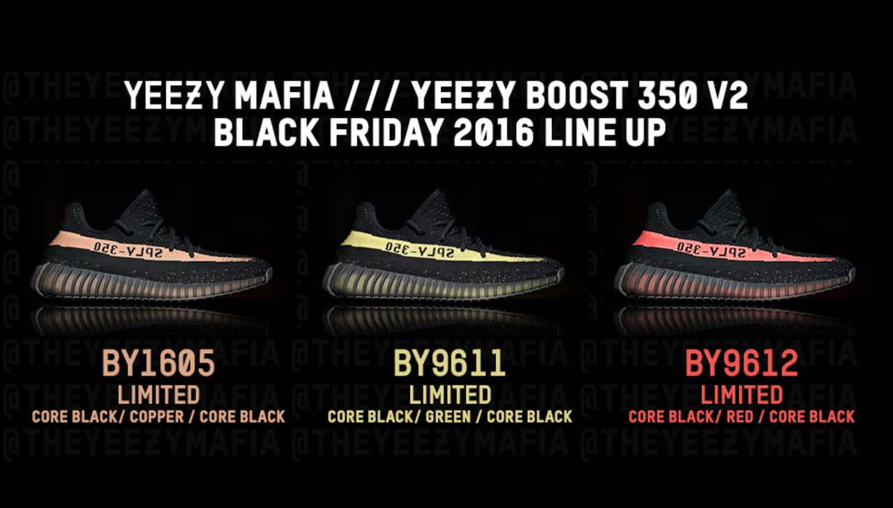yeezy shoes black friday