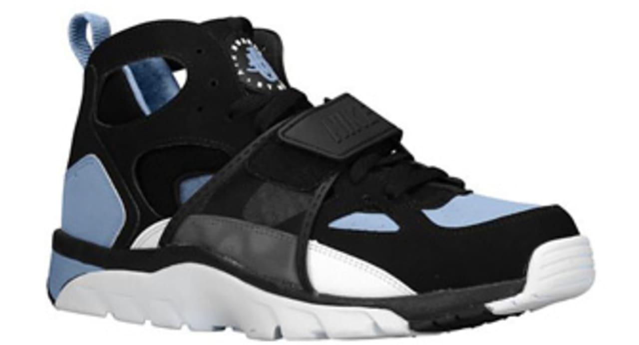 Release Date: Nike Air Trainer Huarache Black/Cool Blue | Sole ...