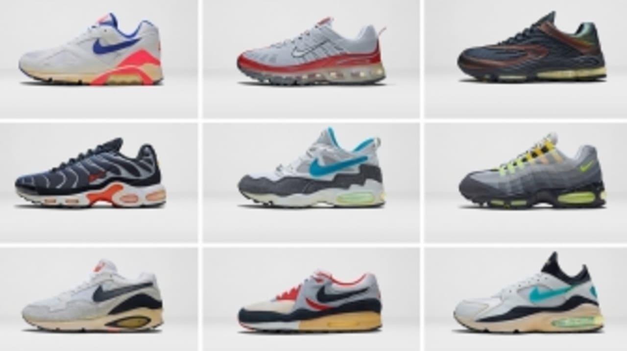 Nike Honors Forgotten Air Max Models