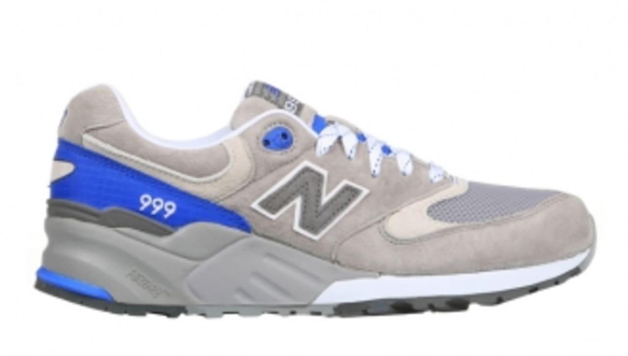 New Balance 999 'Grey/Royal Blue