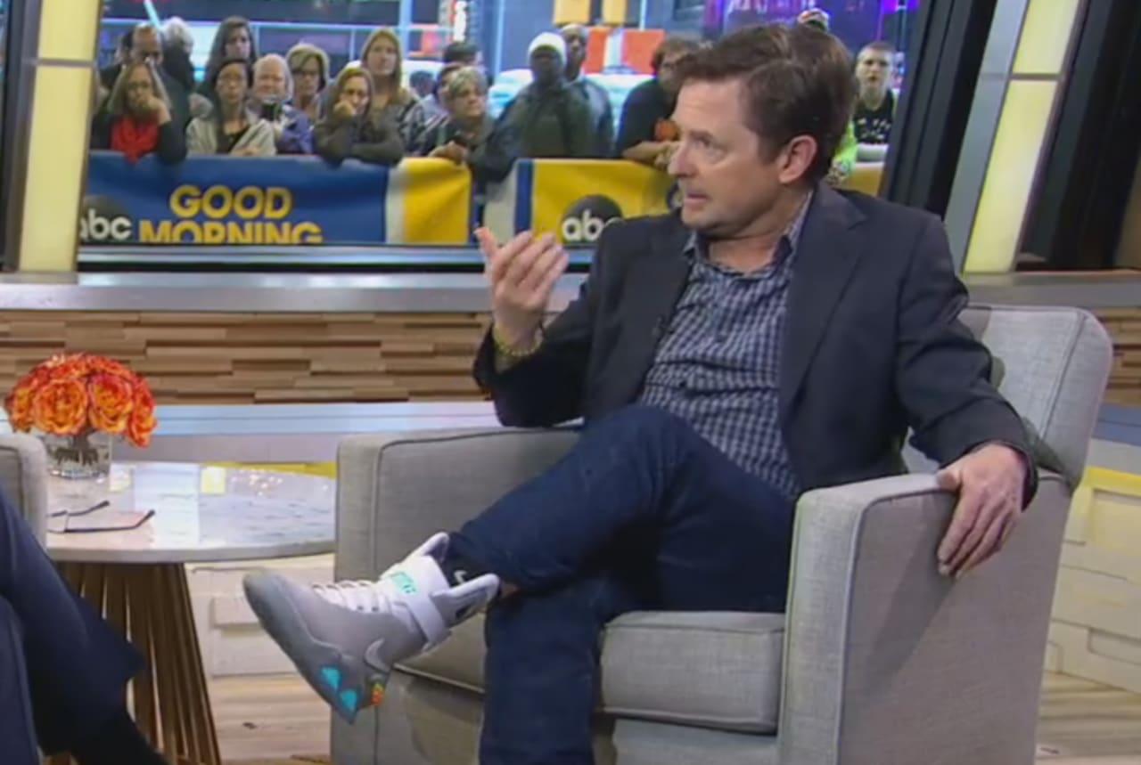 Future Shoes Michael J Fox
