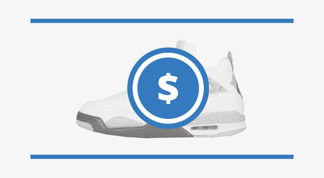 niskie ceny szczegóły kupować tanio The Air Jordan 4 Price Guide | Sole Collector