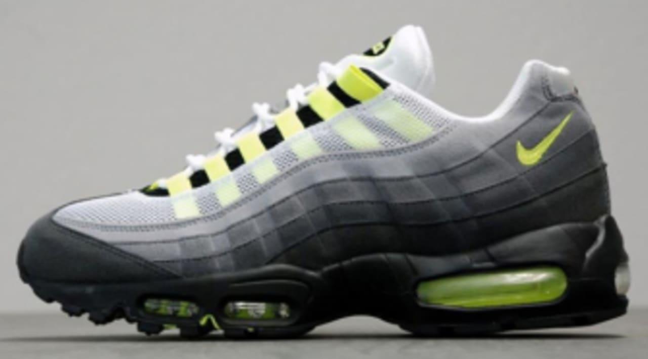 Nike Air Max 95 OG - White/Neon Yellow