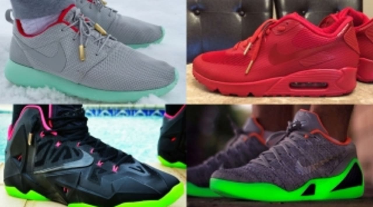 Kanye West Yeezy NIKEiD Inspired Designs | Sole Collector