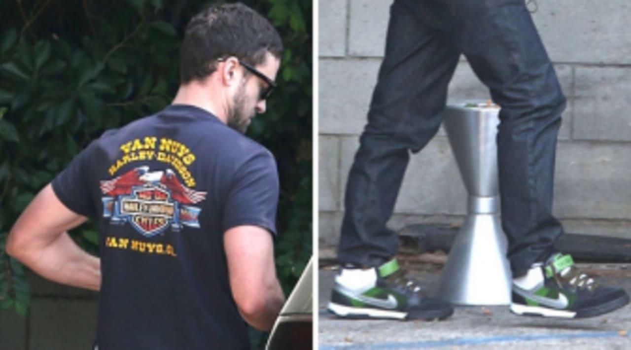Justin Timberlake Wears Nike 6.0 Air