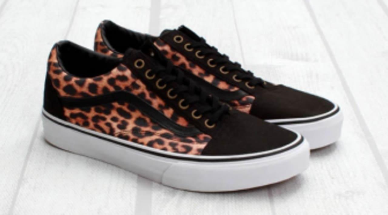 Vans Old Skool - Leopard | Sole Collector