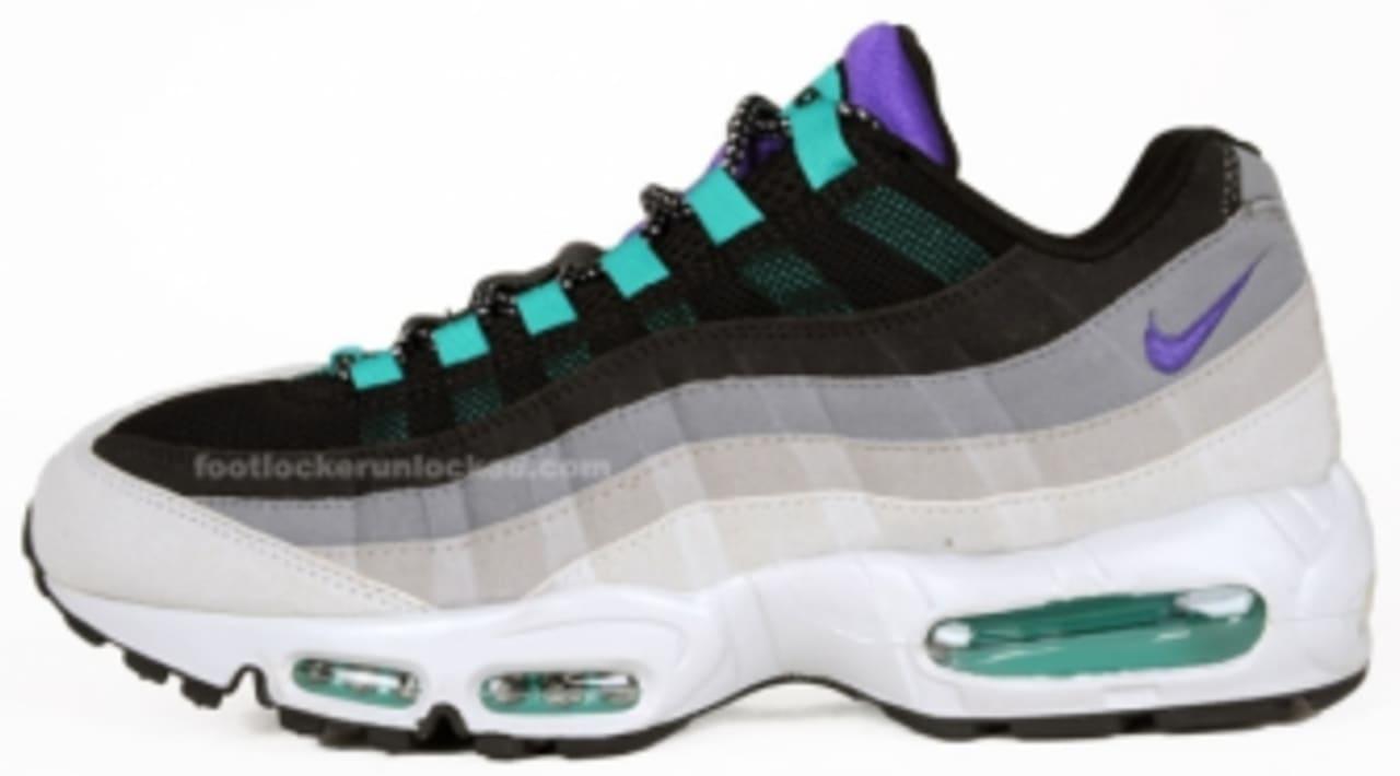 air max 95 grey purple