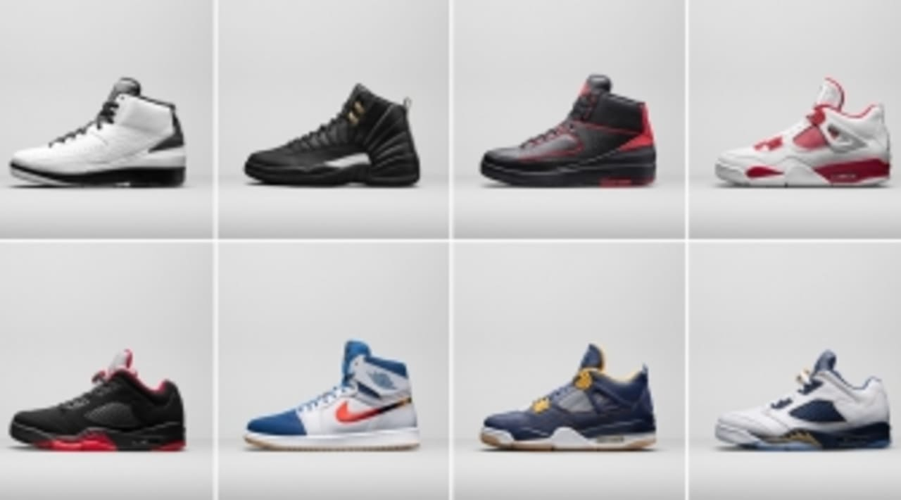 Get 2016 Air Jordan Retro Release Dates