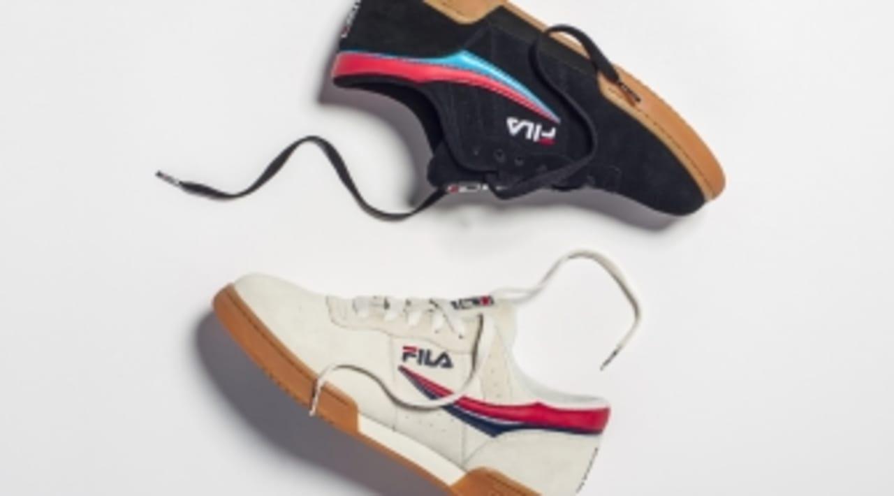 DGK Updates the Fila Original Tennis For Skaters Enda  Sole