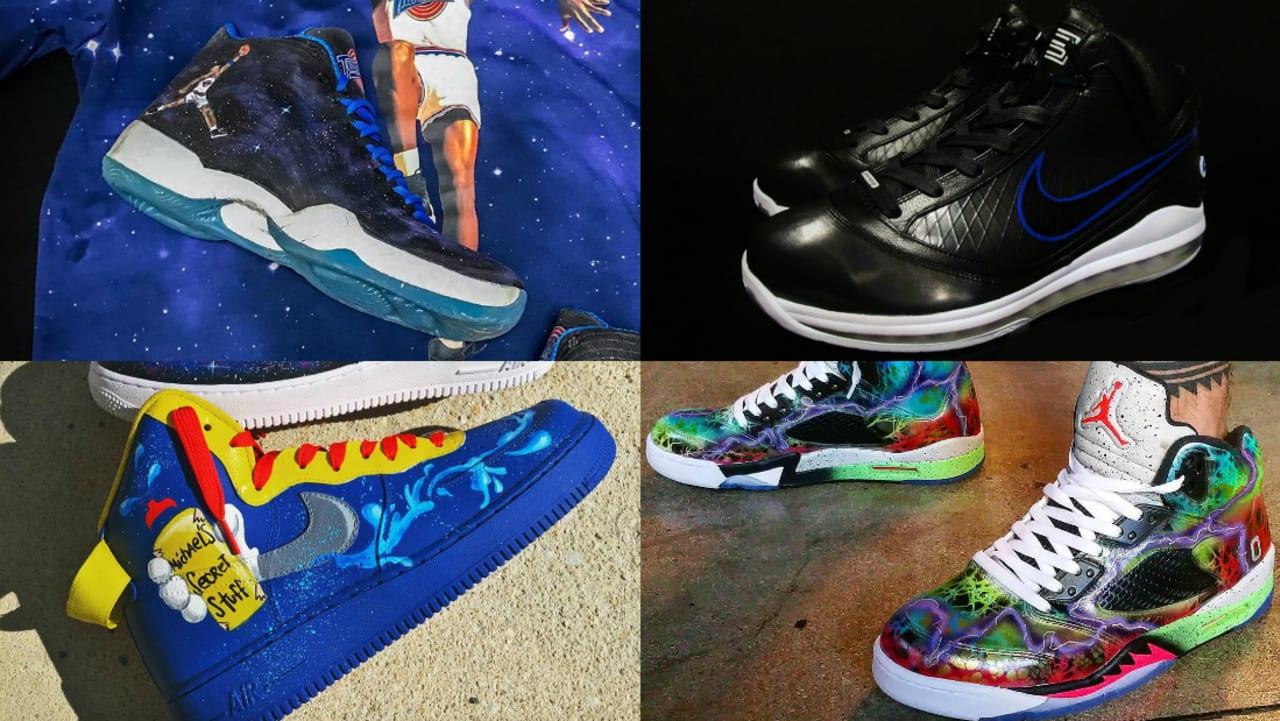 Space Jam Air Jordan Custom Sneakers