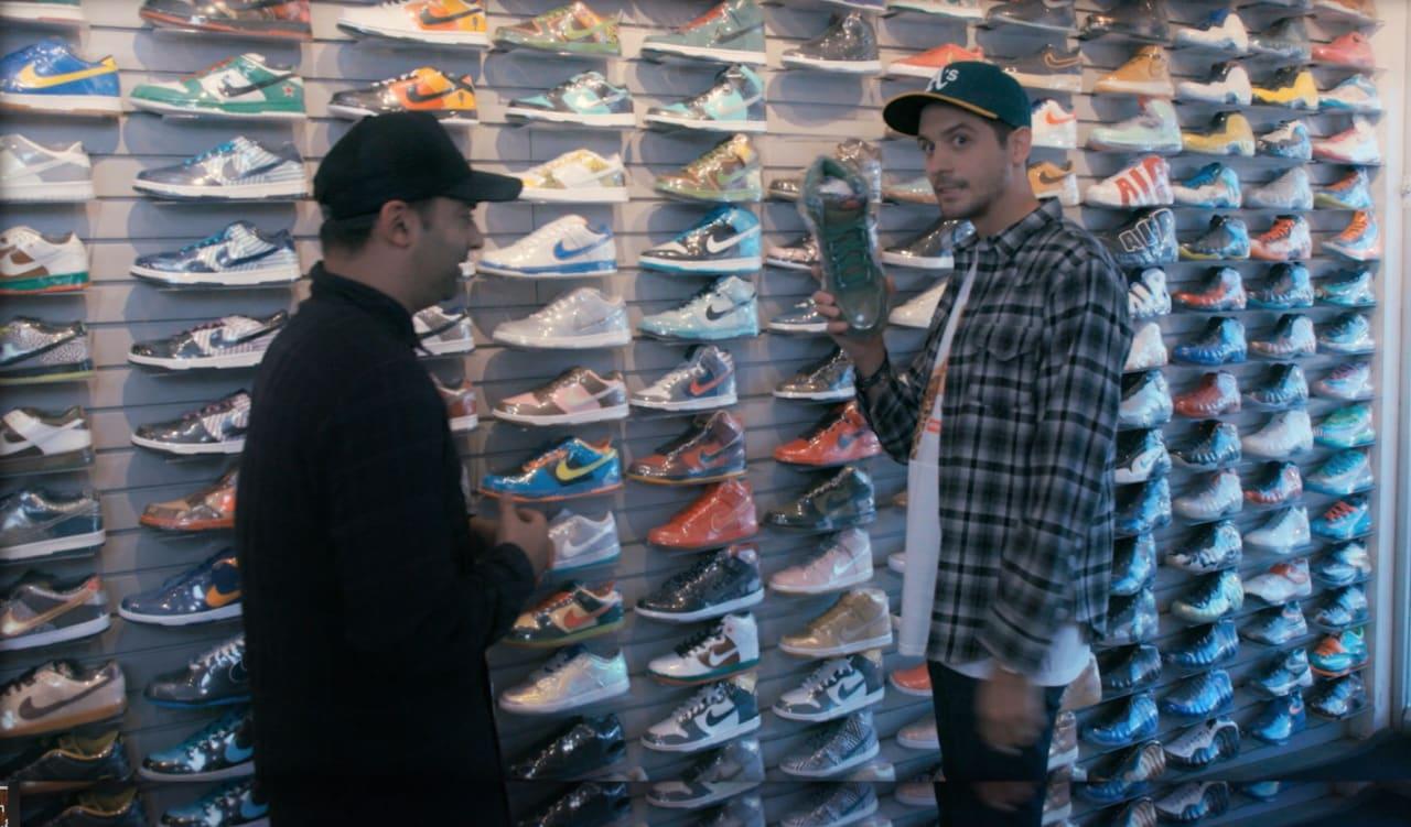 Sneaker Shopping G Eazy Virtual Reality