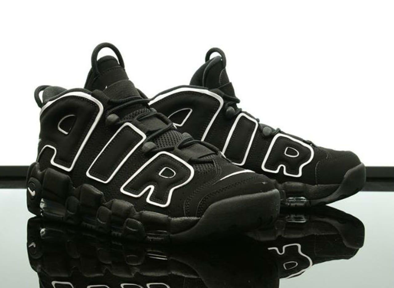Nike Air More Uptempo Black/White 2016