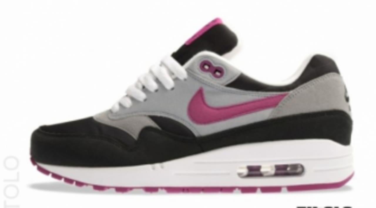 Nike WMNS Air Max 1 BlackWolf Grey Rave Pink Enhedssamler  Sole Collector