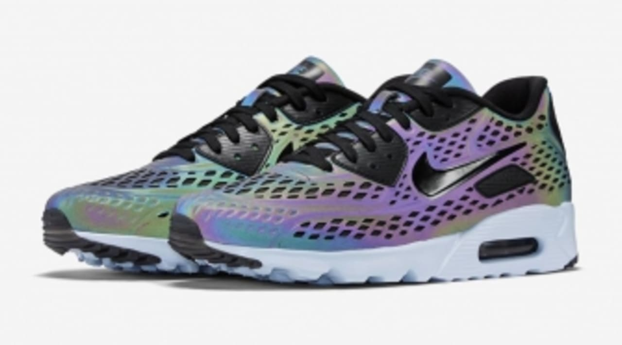 Air Max 90 Ultra Moire Iridescent nike is finally releasing the air max 'iridescent pack