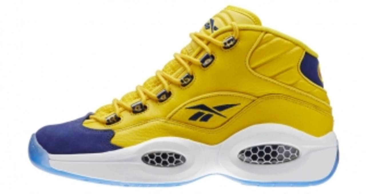 Reebok Classic QUESTION MID YELLOW//NAVY//WHITE-V72127