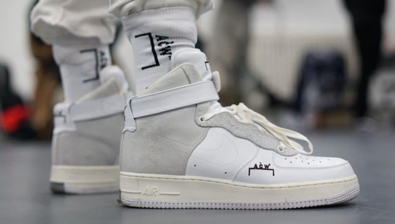 A Cold Wall Nike Air Force 1 High | Sole Collector