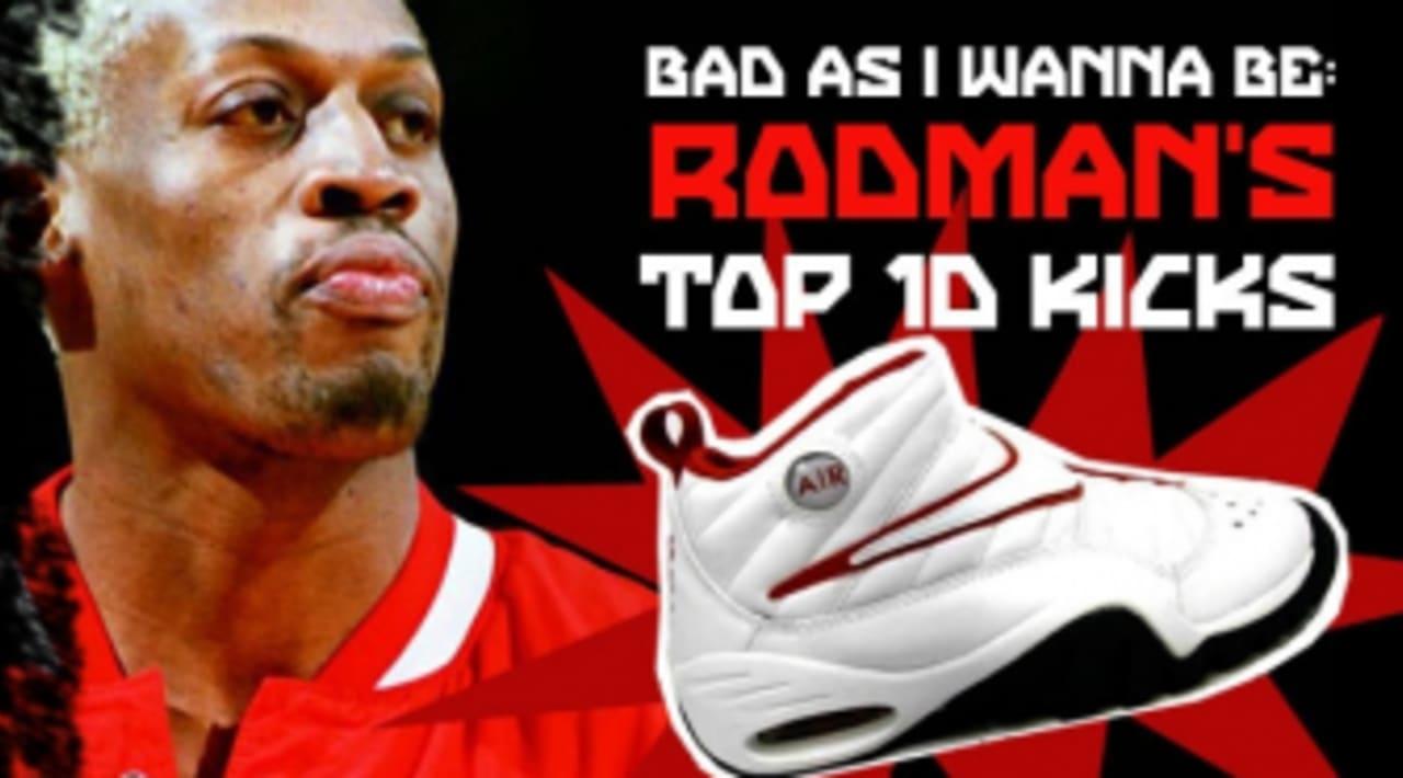 locutor Tomar medicina Desnudo  Bad As I Wanna Be: Dennis Rodman's Top 10 Sneakers | Sole Collector