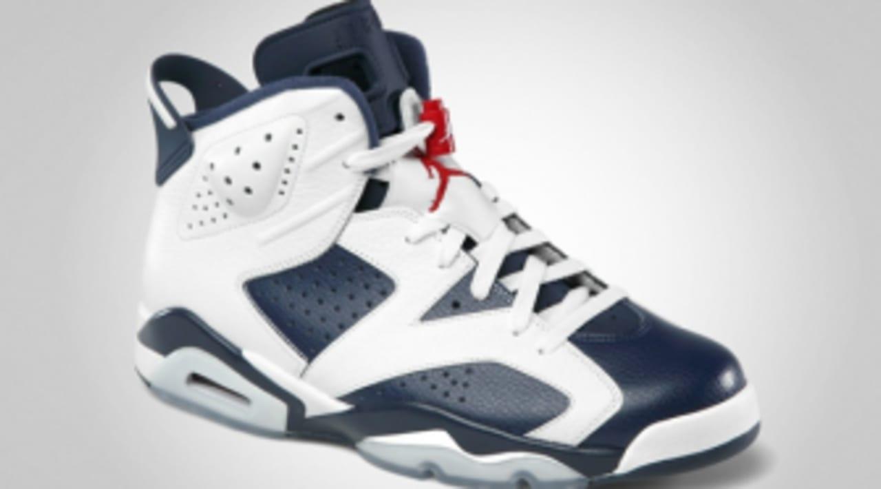 Air Jordan Retro 6 - Olympic - Official