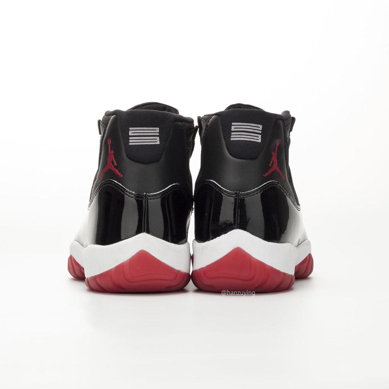 47d9521470b Air Jordan 11 XI Bred 2019 Release Date 378037-061 | Sole Collector