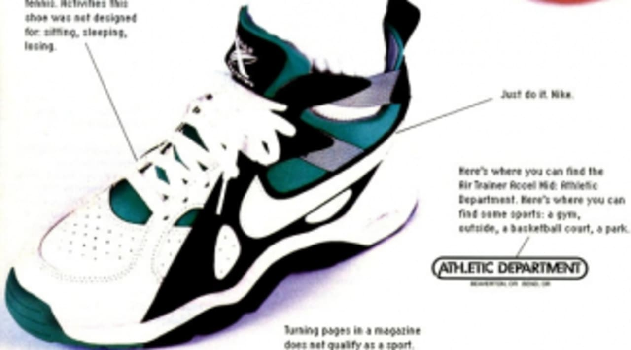 Vintage Ad: Nike Air Trainer Accel