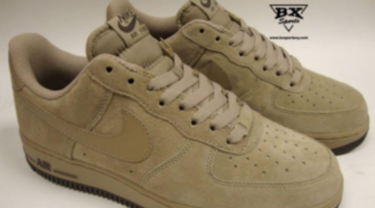 no relacionado liderazgo favorito  Nike Air Force 1 Low - Beige Suede | Sole Collector