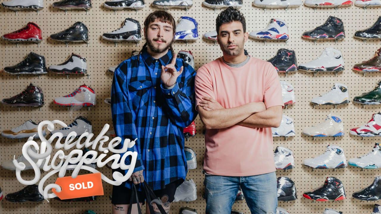 ética Estable emoción  Post Malone Sneakers | Sole Collector