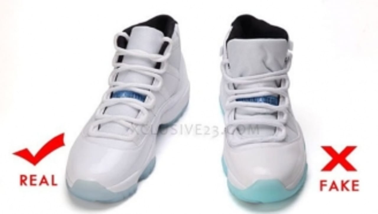 Air Jordan 11 'Legend Blue' - Authentic